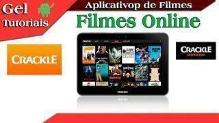 -Video Aula- Aplicativo Crackle #6° Serie App De Filmes.