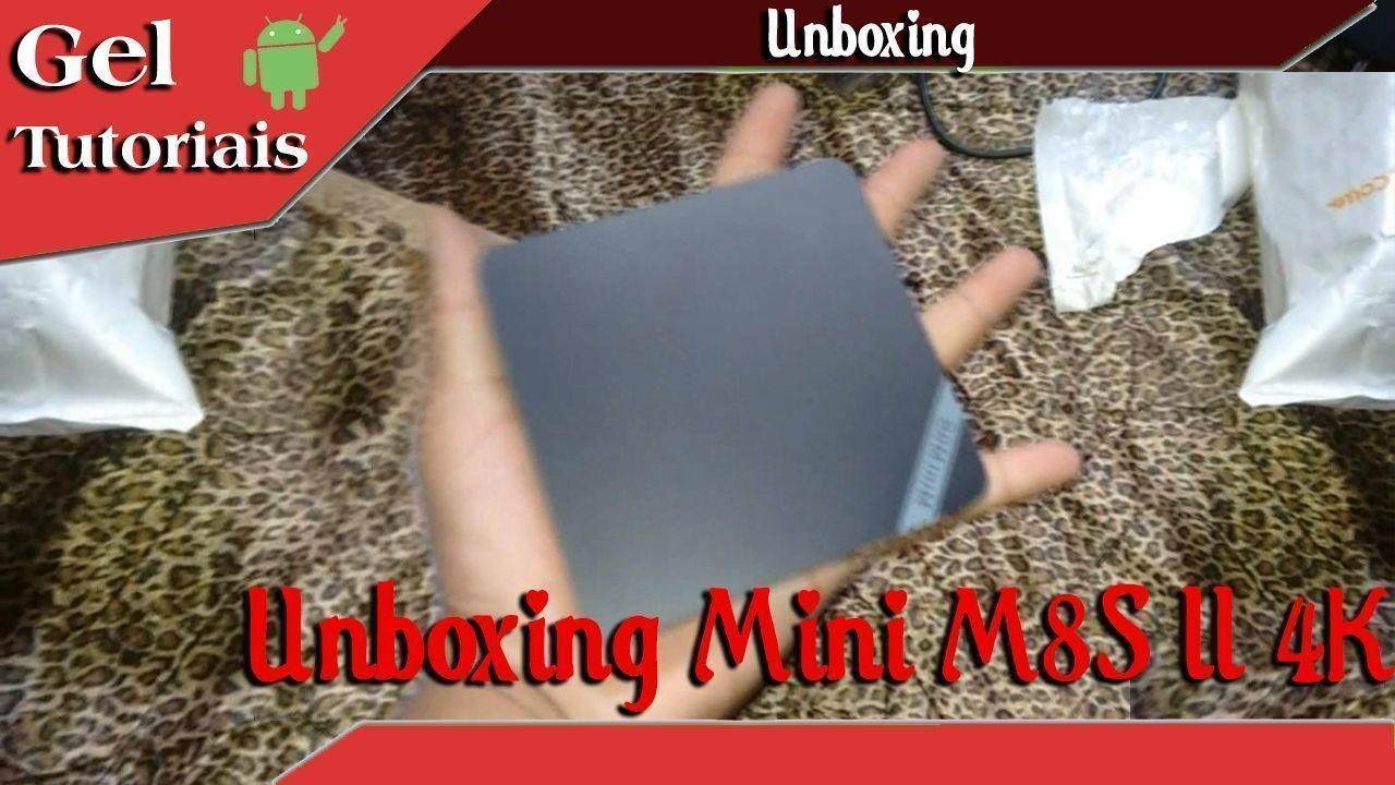 Unboxing Mini M8S II 4K (Tv Android BOX)