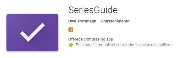 SeriesGuide v45-beta1 Premium APK / Atualizado ( Gerencie Suas Series Favoritas)