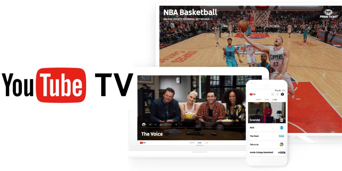 YouTube TV, serviço semelhante a TV a cabo, Confira as Novidades.