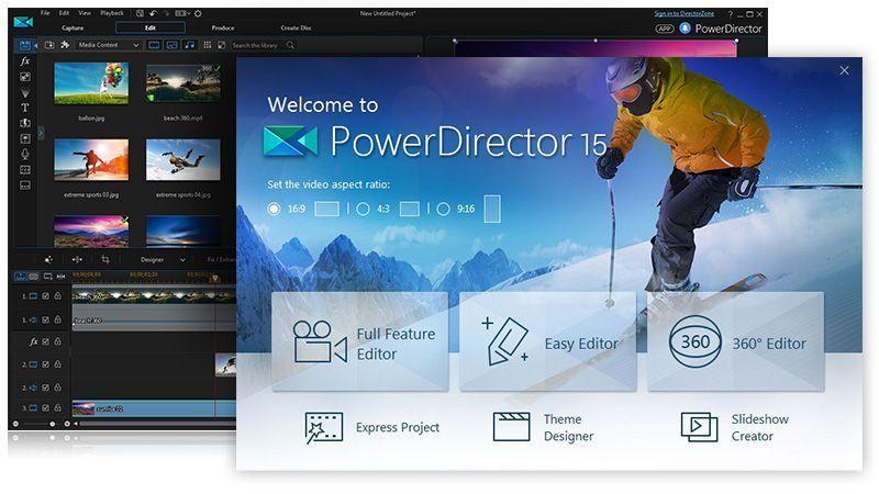 CyberLink PowerDirector Video Editor v8.0.1 Unlocked APK – Atualizado