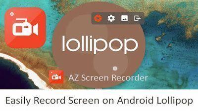 AZ Screen Recorder v5.8.8 build 6862 – No Root [Premium Unlocked Apk] ATUALIZADO (Não Precisa de ROOT)