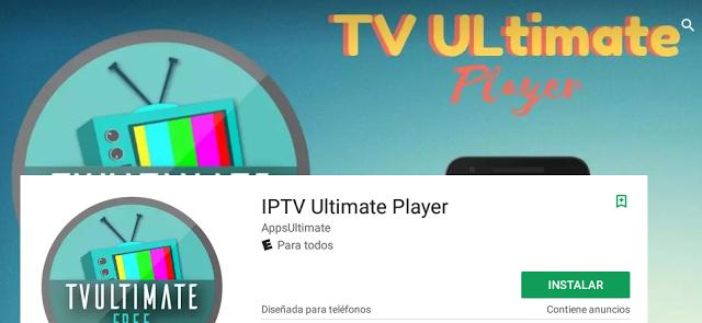 Veja TV online no Android (IPTV Ultimate Player)
