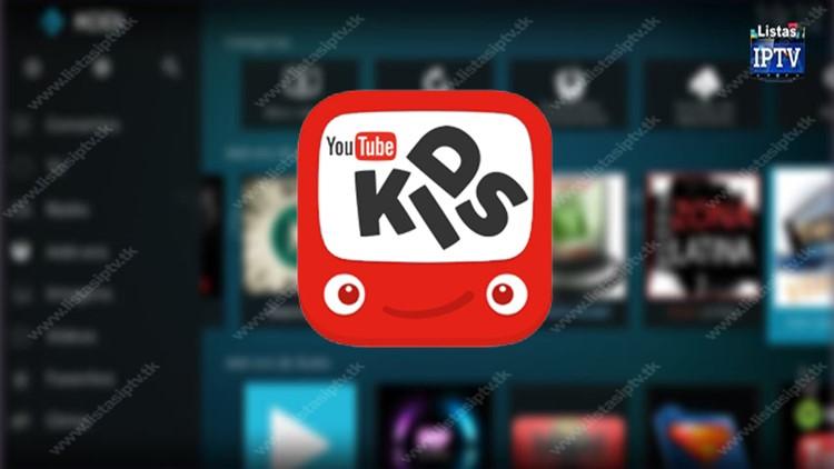 Add-on Youtube Kids no KODI
