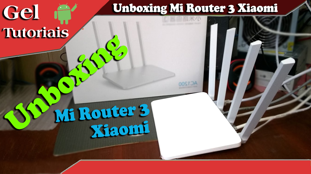 Unboxing Roteador Xiaomi Mi3 Ac1200