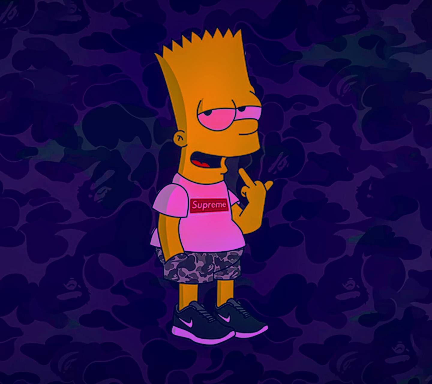 Bart Wallpapers: Papeis de parede do bart dos Simpsons para Android