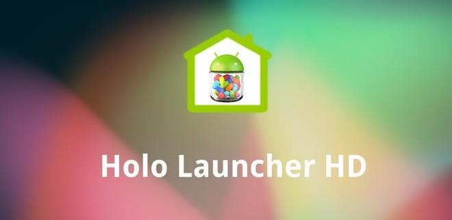 Holo Launcher Para ICS Plus v3.1.2 APK / Atualizado