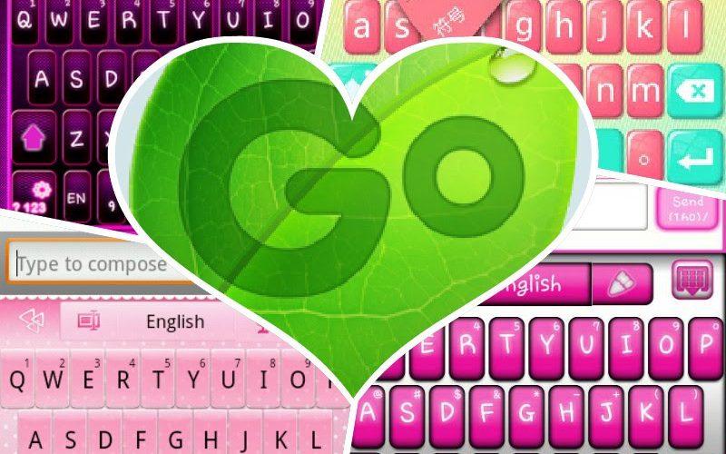 Teclado GO v3.39 – Teclado emoji, Cute emoticons
